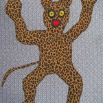 das lustige Leopardenmonster